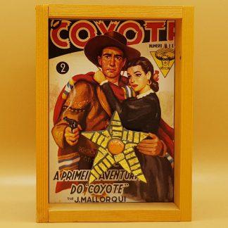 mozaiek kunstkistje cowboy