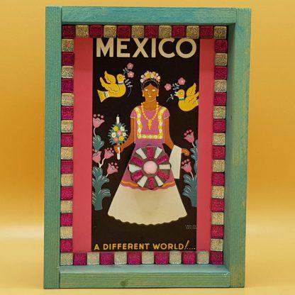 mozaiek kunstkistje mexico