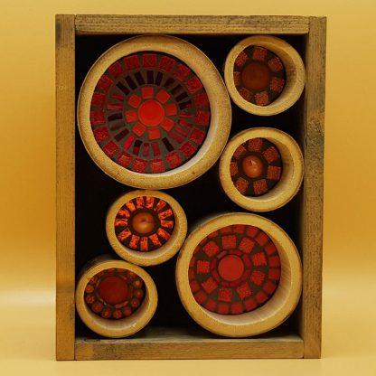 mozaiek kunstkistje bamboe
