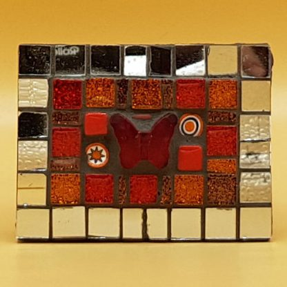 unieke mozaiek koelkastmagneet