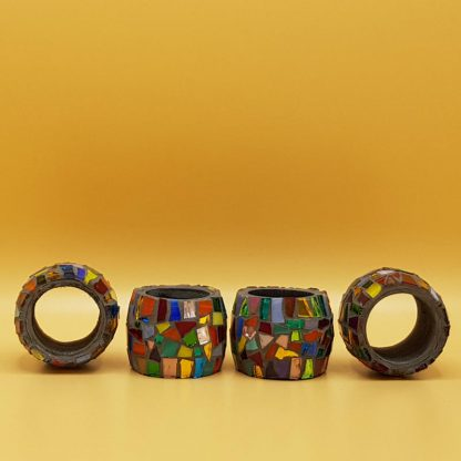 unieke mozaiek servetringen