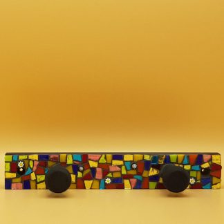 unieke mozaiek kapstok