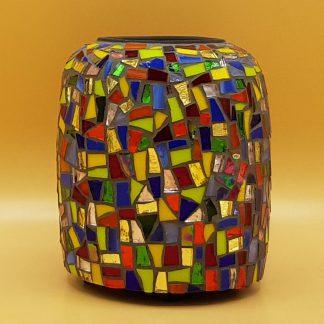 unieke mozaiek waxinelichthouder