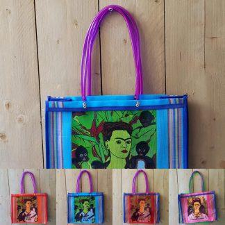 Frida Kahlo tas met hengsel