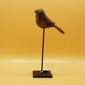 houten vogel decoratie