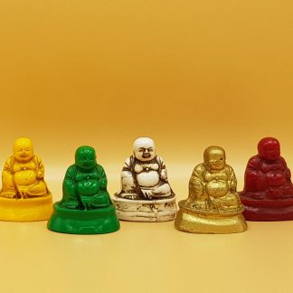 plastic buddhabeeldjes