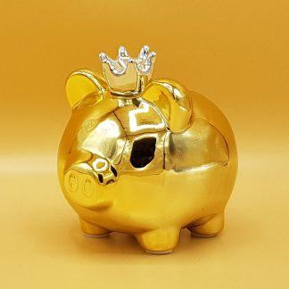 spaarvarken goud