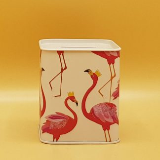 spaarpot flamingo