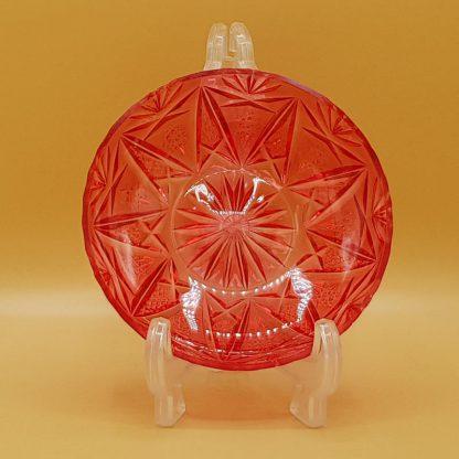 plastic schaaltje rood