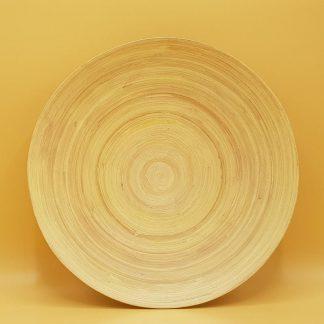 mozaiek benodigdheden bamboe schaal plat