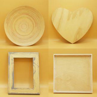 houten vormen