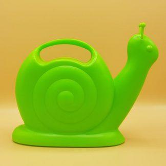 plastic gieter groene slak
