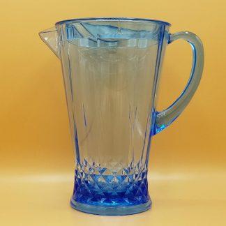 plastic waterkan blauw