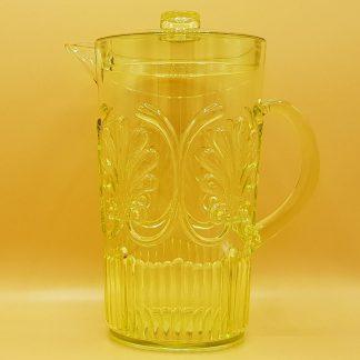 plastic waterkan geel