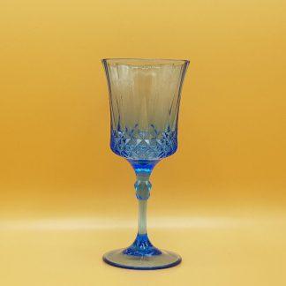 plastic waterglas blauw